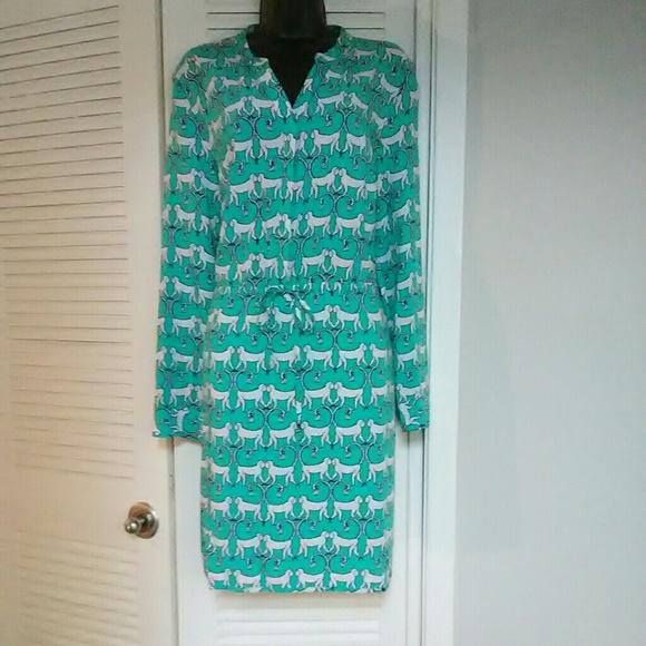 d2d456e96e8db Crown & Ivy Dresses   Crown Ivy Plus Size 14 Monkey Print Dress ...